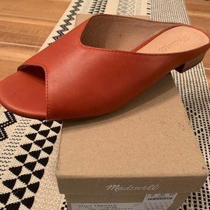 🆕 Madewell Tavi Slide Sandal Size 9